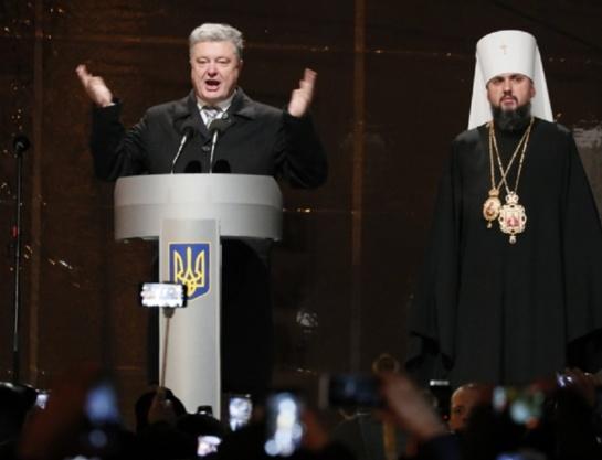Porošenka: Ukrainos ortodoksų sinodas įkūrė nuo Rusijos nepriklausomą suvienytą Bažnyčią