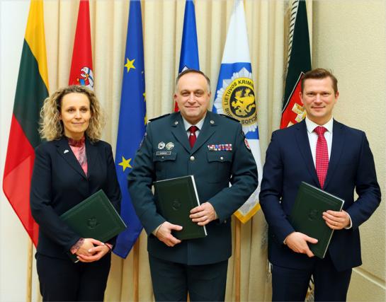Duotas startas Kauno ir Panevėžio policijos pastatų statyboms