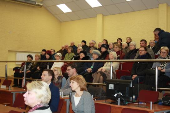 Įvyko susitikimas su Radviliškio miesto daugiabučių namų pirmininkais ir miesto gyventojais