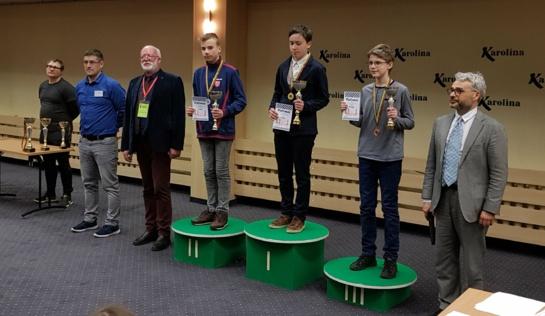 Neįtikėtas rezultatas: vienas iš Lietuvos šachmatų čempionato vicečempionų – jurbarkietis