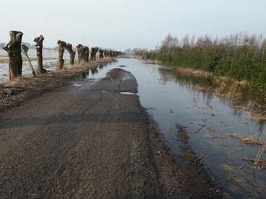 Potvynis Rusnėje slūgsta – vandens lygis siekia 56 cm