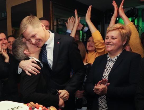 R. Šimašiaus žmona: jo svajonė dirbti Vilniaus labui