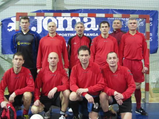 UAFF taurę iškovojo Visagino salės futbolininkai