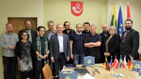"""Projekto """"Wasteman"""" partnerių susitikimas Tauragėje"""