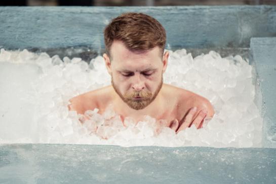 Ledo žmogus pasiekė Lietuvos rekordą