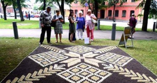 Pinti floristinius kilimus kvies užsieniečius