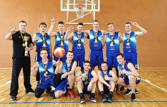 Kolegijos krepšininkai tapo čempionais!