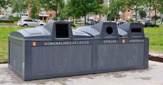 Planuojamos požeminės komunalinių atliekų aikštelės