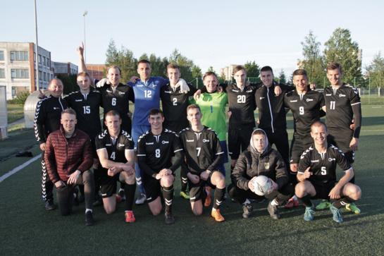 Šiaulių universiteto futbolininkai – Lietuvos studentų futbolo lygos čempionai!
