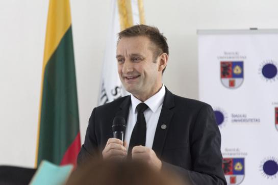 """Šiaulių meras Artūras Visockas: """"Perspektyvus specialistas čia įgyvendins visas savo idėjas"""""""