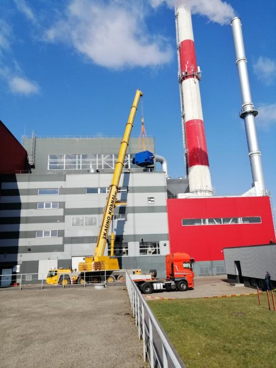 Šiaulių termofikacinės elektrinės turbogeneratorius ir vėl gamina elektros energiją