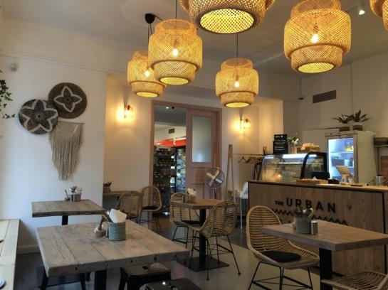 "Restorano apžvalga: ""The Urban Garden"""