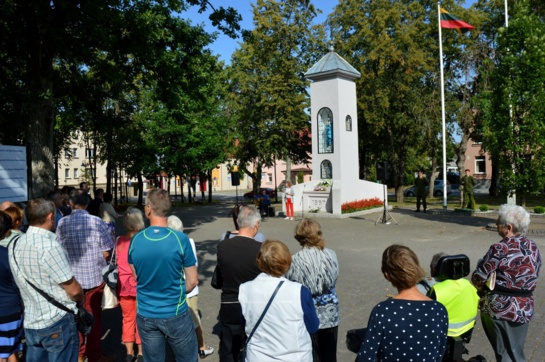 Skuode – Baltijos kelio 30-mečio minėjimas