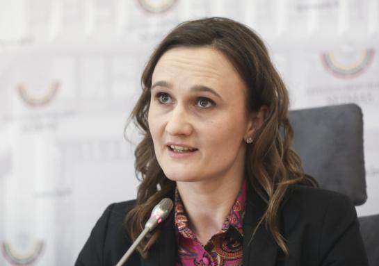 Liberalų sąjūdžio lyderė V. Čmilytė-Nielsen izoliuojasi dėl koronaviruso rizikos