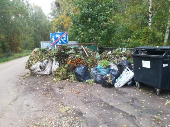 Atėjus rudeniui ypač aktualu yra žaliųjų atliekų tvarkymas