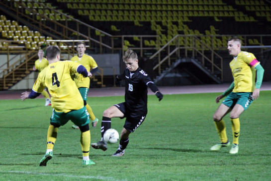 LSFL čempionate Šiaulių universiteto futbolininkai iškovojo antrąją pergalę