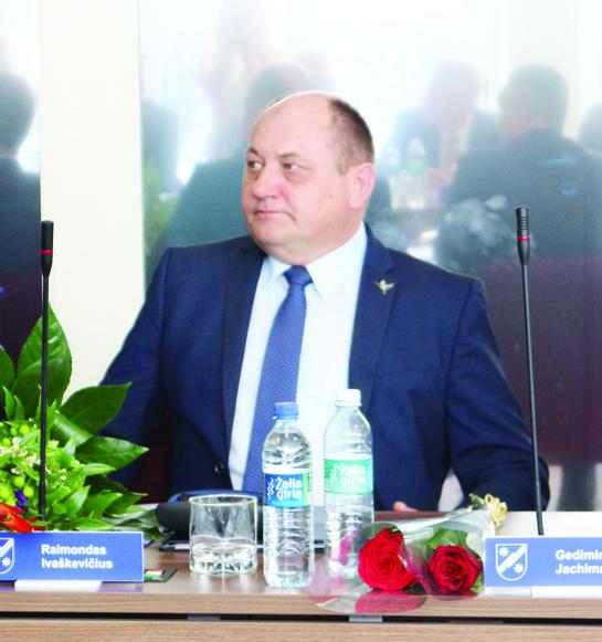 Vicemeras Raimondas Ivaškevičius: problemų turime daug, o lėšų mažai