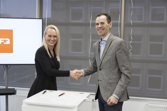"""Pasirašyta Šiaulių universiteto ir įmonės """"NFQ Technologies"""" bendradarbiavimo sutartis"""