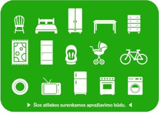 Pakruojo rajone bus surenkamos didelių gabaritų atliekos