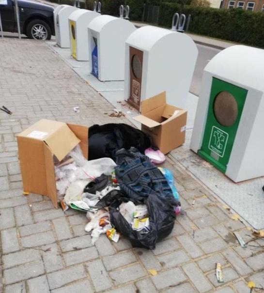 Atliekos išdavikės: akylai prižiūrėtojai padėjo išsiaiškinti aikštelės teršėją