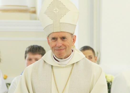 Šiaulių vyskupo sveikinimas bus transliuojamas tiesiogiai
