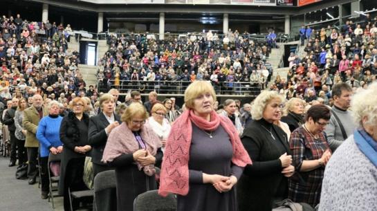 Šiaulių vyskupijos Šeimų šventėje – įdomus svečias