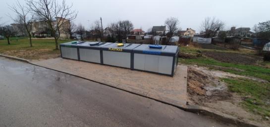 Ginkūnų, Kužių ir Kuršėnų gyventojų prašoma kol kas nesinaudoti naujaisiais pusiau požeminiais atliekų konteineriais