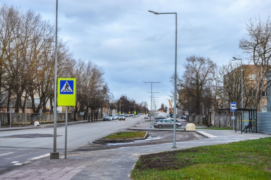 Panevėžys atsinaujina! Sutvarkytos J. Janonio gatvės prieigos