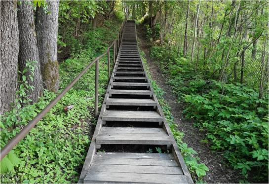 Laiptai į dangų…