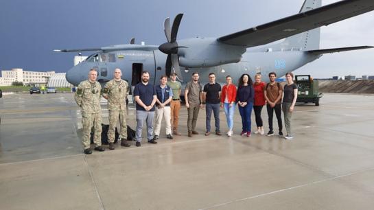 Į Lietuvą grįžta medikų pagalbos misija, padėjusi kovoti su COVID-19 Armėnijoje