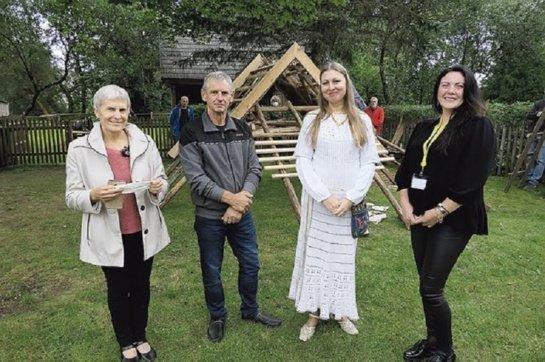 Agluonėnų etnografinėje sodyboje prisiminta senoji medinė architektūra