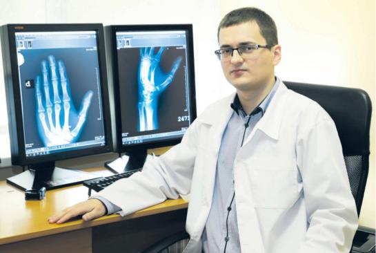 Ligoninės gydytojų komandoje –gimtinėn sugrįžęs radiologas