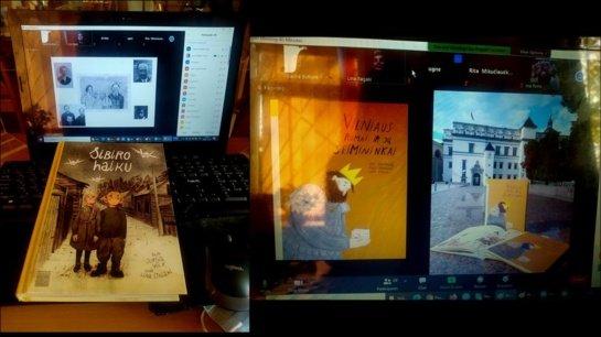 Rėkyvos bibliotekoje – virtualus susitikimas su Lina Itagaki