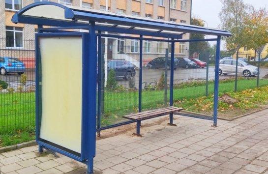 Siūlo nuomoti paviljonus autobusų sustojimuose