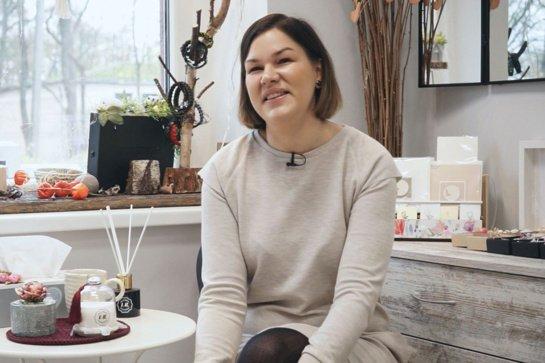 """ŠU alumnė, dovanų gamybos studijos įkūrėja Vilma Songailė: """"Norėjosi pasirinkti kūrėjos kelią"""""""