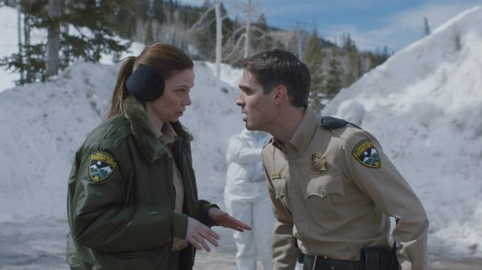 """Filmo apžvalga: """"Wolf of Snow Hollow"""" (2020)"""