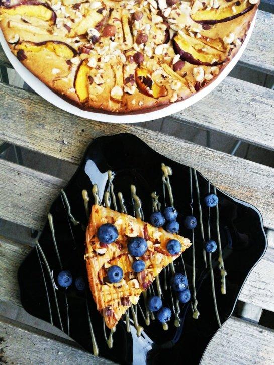 Nektarinų pyragas