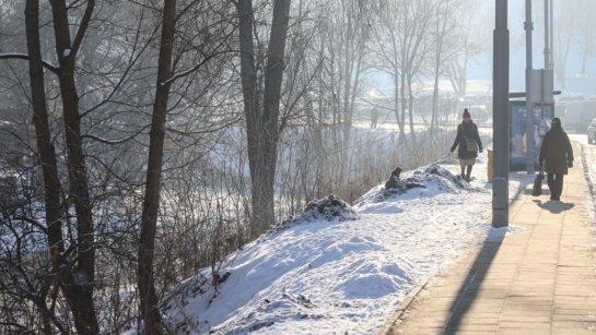 Žiema įsibėgėjo: vietomis bus iki 27 laipsnių šalčio