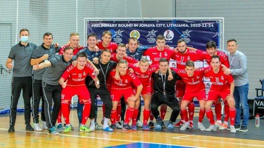 """""""Vytis"""" – tarp 16 stipriausių Europos komandų"""