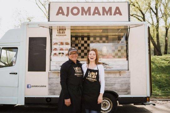 """""""Ajomama"""" įkūrėja Daiva: """"pagrindinis sunkumas buvo įtikinti žmones, kodėl verta paragauti įdarytų bulvių"""""""