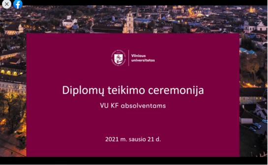 Diplomų įteikimo šventė: komunikacijos fakultetas pamiršo kai kuriuos studentus