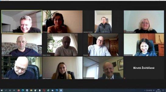 Tradicinis susitikimas su rajono dvasininkais – virtualioje erdvėje