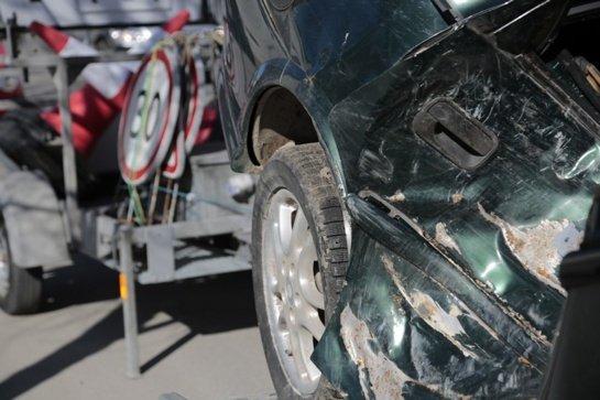 Pareigūnai aptiko daugybę automobilių kėbulų