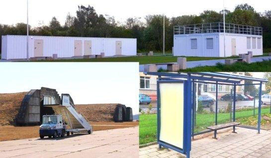 Dosnus nuomos konkursas: nuo autobusų stotelių paviljonų iki sporto bazės