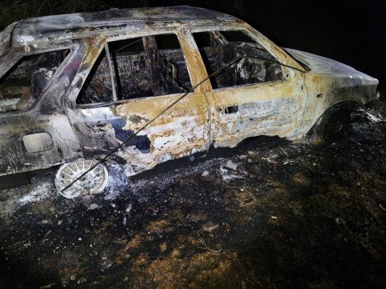 Sudegusiame automobilyje rastas sudegusio pensininko kūnas