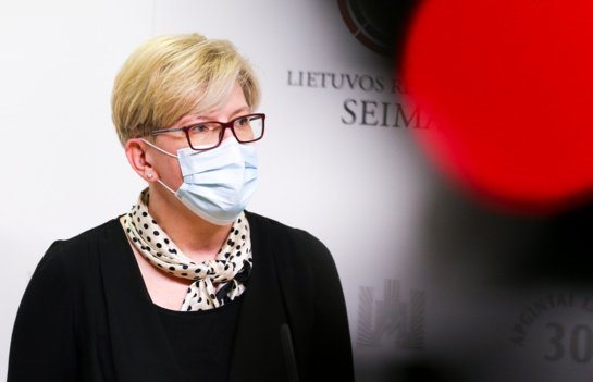 I. Šimonytė: migrantų panaudojimas politiniais tikslais turi būti griežtai pasmerktas