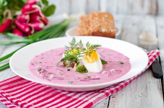 Vasariška gaiva ant stalo: šaltsriubių receptai