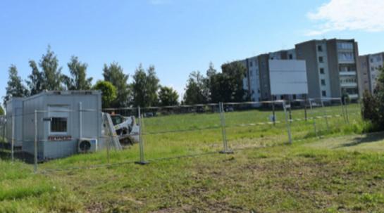 Širvintose statomas naujas prekybos centras