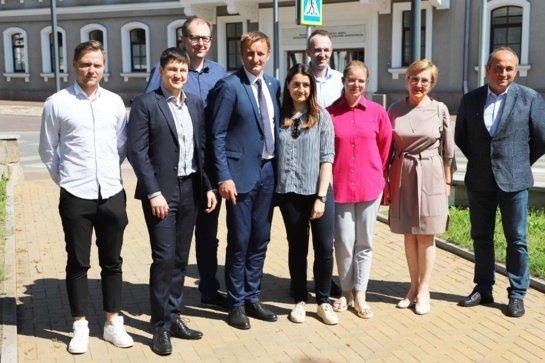 Šiaulių meras susitiko su medikais: Šiaulių ligoninė turi tobulėti ir toliau teikti kokybiškas paslaugas gyventojams