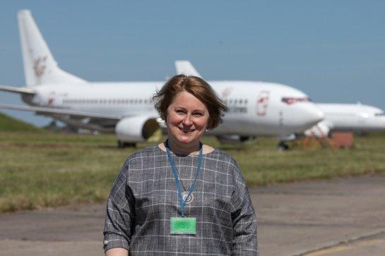 Šiaulių oro uosto vadovė: nusitaikėme į perspektyvią aviacijos sritį, kuri svarbi ir Šiauliams, ir Lietuvai
